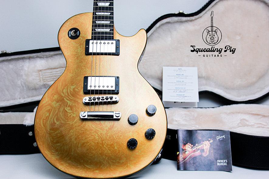 "GIBSON USA Les Paul Studio LTD Swirl ""Gold Swirl + Obeche"" (2011)"
