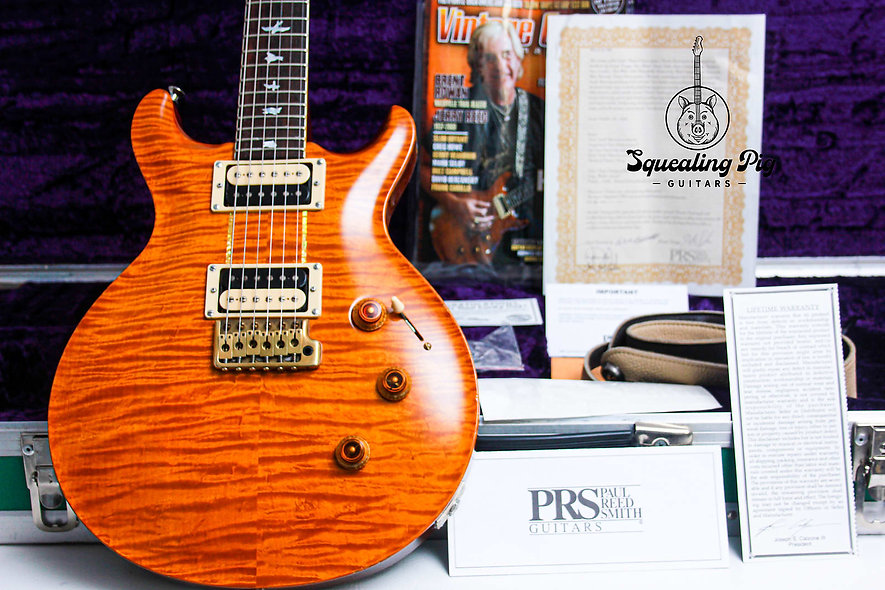 """PRS USA Private Stock Howard Leese Eagle #2172 """"Vintage Yellow"""" (2009)"""