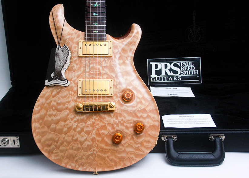 """PRS Paul Reed Smith USA Artist Package Custom 22 AAA+ """"Natural + Rosewood"""" (2004"""