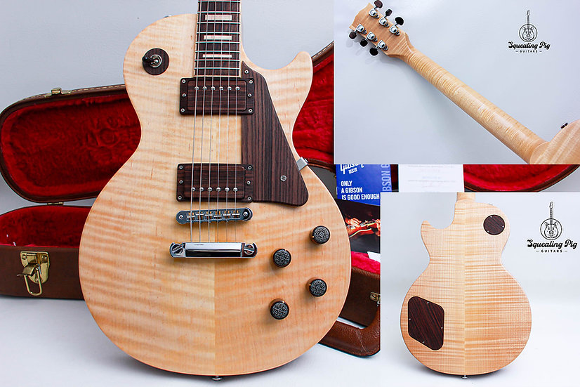 "GIBSON USA Les Paul LTD ""The Les Paul All-Wood ""Natural Antique + Rosewood"""