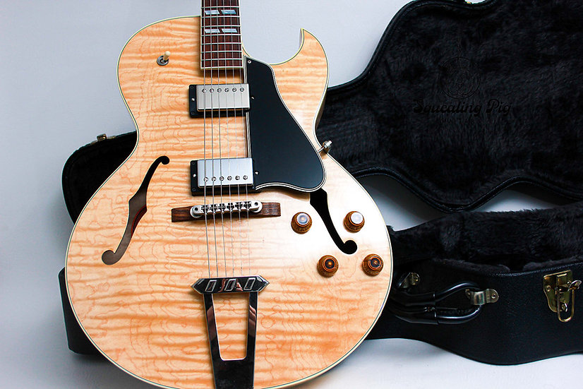 """GIBSON USA ES-175 Semi Hollow Bodied """"Natural + Rosewood"""" (2006)"""