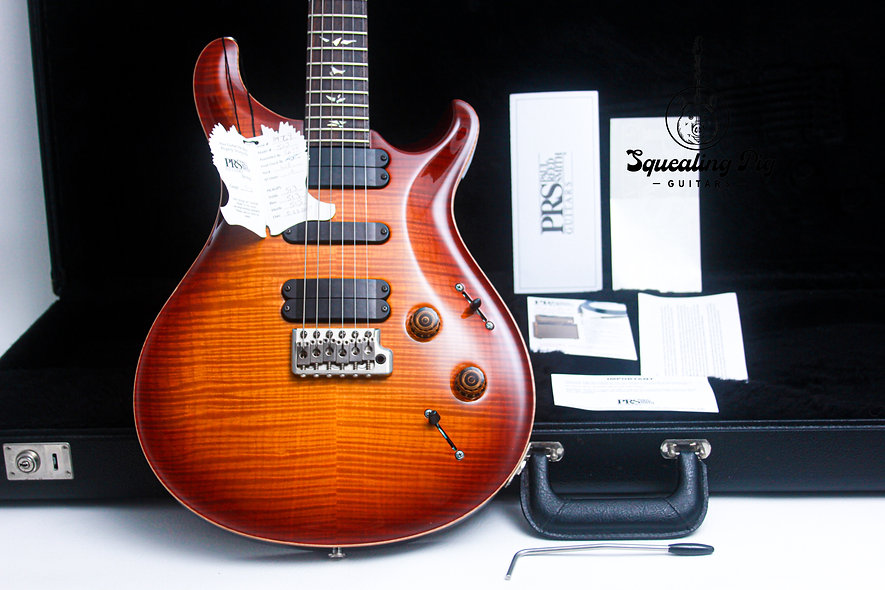 "PRS USA Paul Reed Smith 513 10 Top* ""Cherry-Burst + Rosewood"" (2007)"