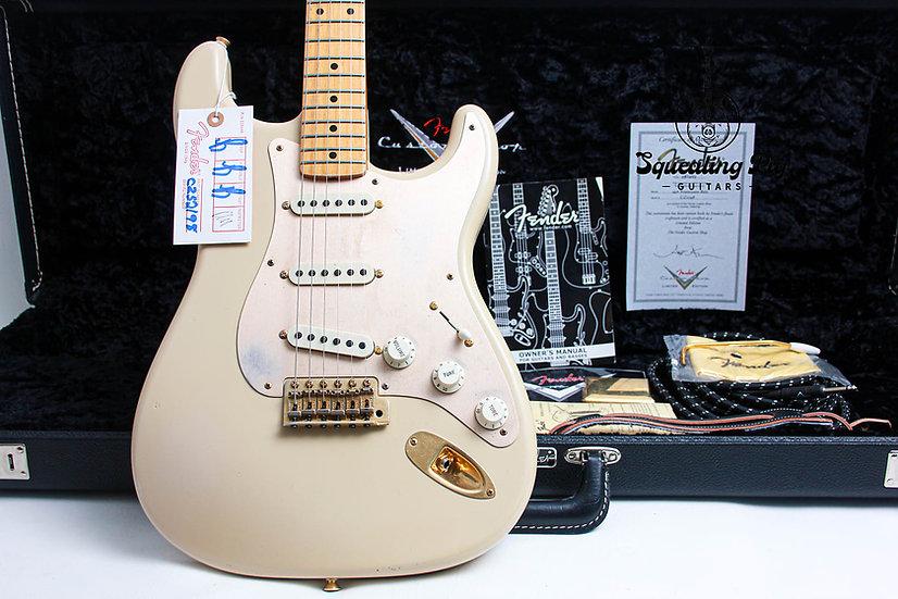 """FENDER USA Custom Shop NAMM 1956 Relic Stratocaster """"Desert Blonde + Maple"""""""