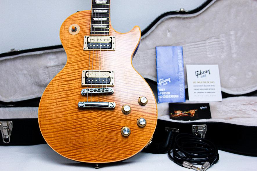 "GIBSON USA Les Paul Slash Signature Appetite AFD 1 of 600 ""Amber + Rosewood"""