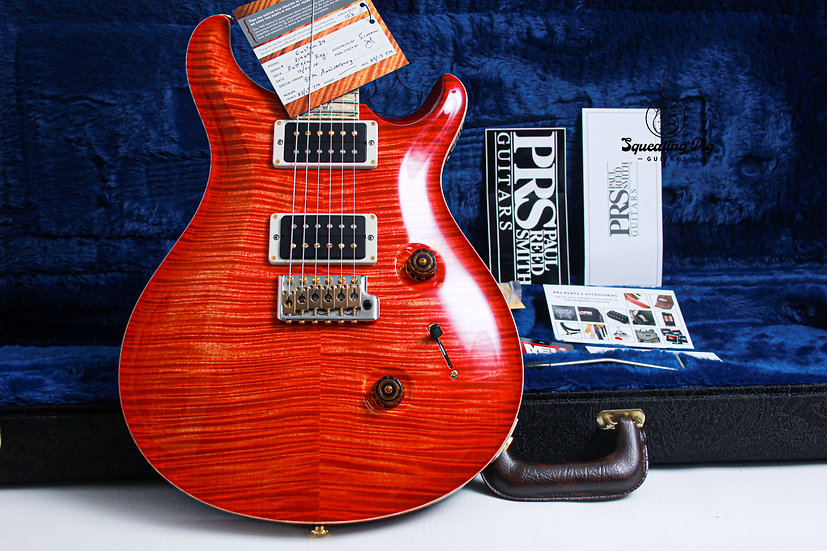"PRS Paul Reed Smith USA 30th Anns Custom 24 ""Blood Orange + Maple"" (2015)"