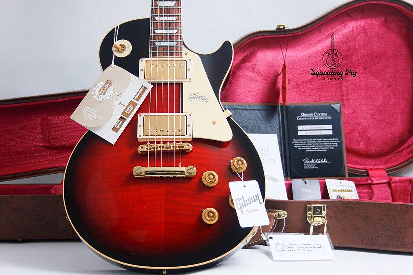 "GIBSON USA Custom Shop Les Paul 1958 R8 Reissue LTD ""Crimson Sunset + Rosewood"""