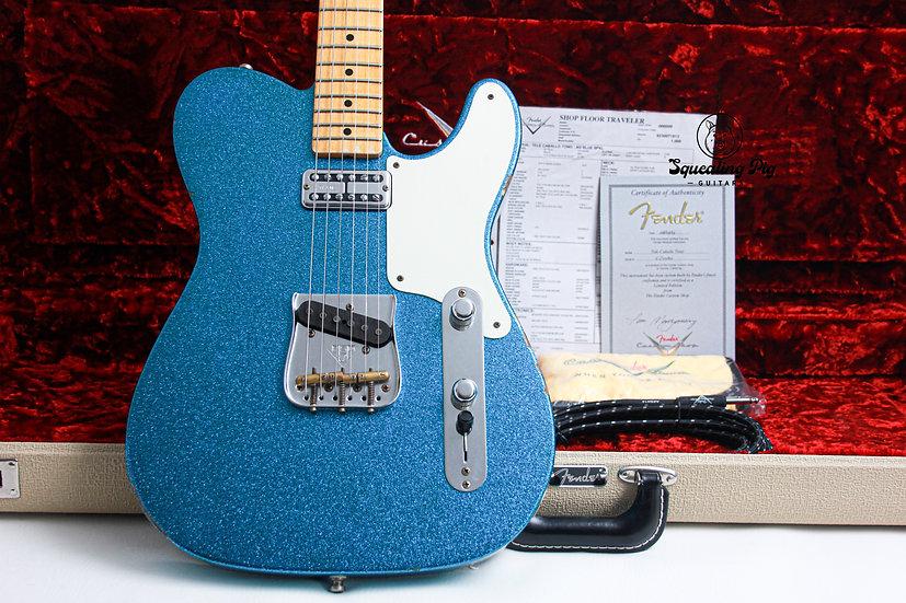 "FENDER USA Custom Shop LTD Telecaster Caballo Tono Relic ""Lake Blue Sparkle"""