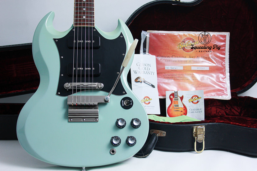 """GIBSON USA Custom Shop Historic SG Special """"Kerry Green + Rosewood"""" (2001)"""