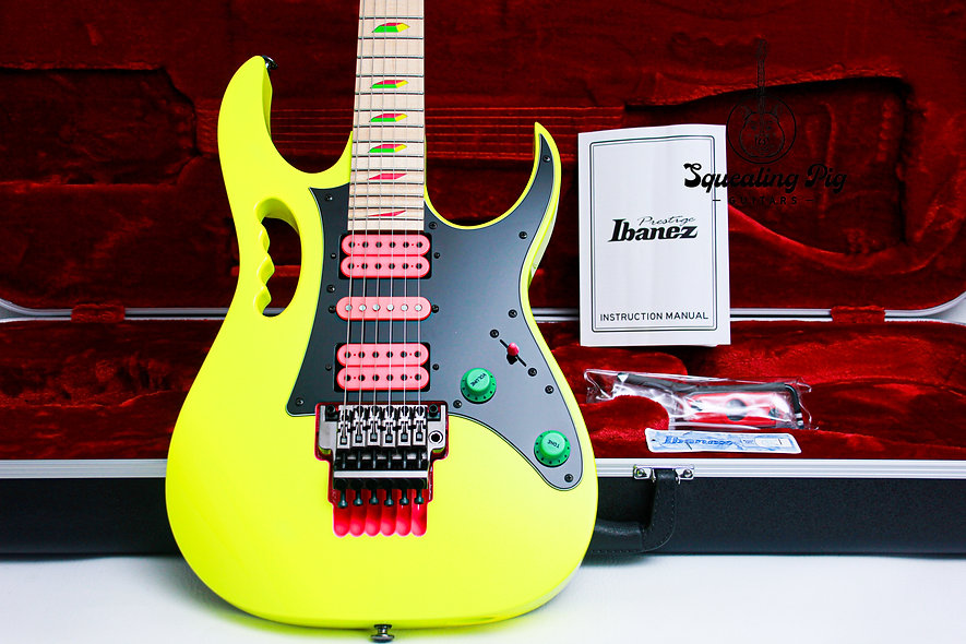 "IBANEZ MIJ 30th Anniversary Jem 777-DY ""Desert Yellow + Maple"" (2017)"