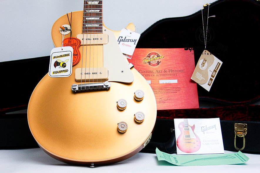 "GIBSON USA Les Paul Custom Shop 1954 Reissue R4 ""Goldtop + Rosewood""(2006)"