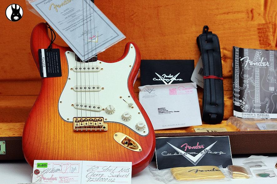 "FENDER USA Custom Shop 1960's NOS Stratocaster ""Sienna Burst + Indian Rosewood"""