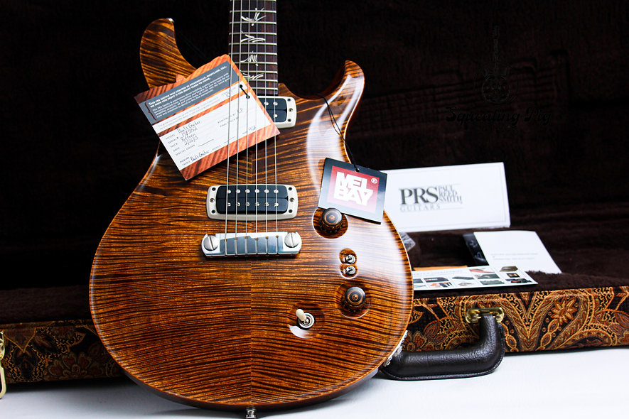 """PRS USA Paul Reed Smith Paul's - Artist AAA+ Quilt """"Copper + Rosewood"""" (2013)"""