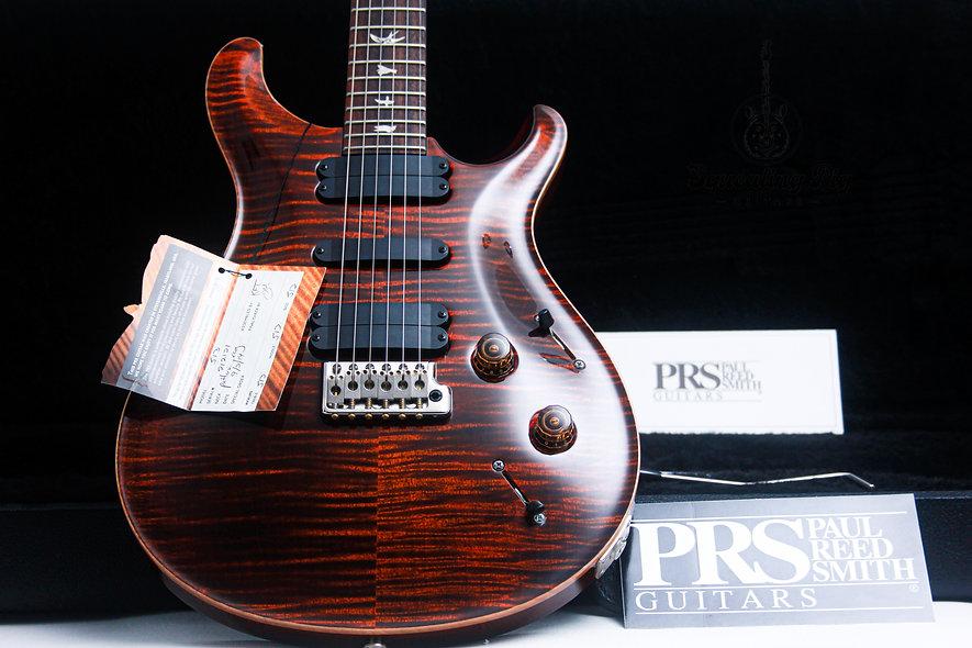 "PRS USA Paul Reed Smith 513 ""Orange Tiger + Rosewood"" (2014)."