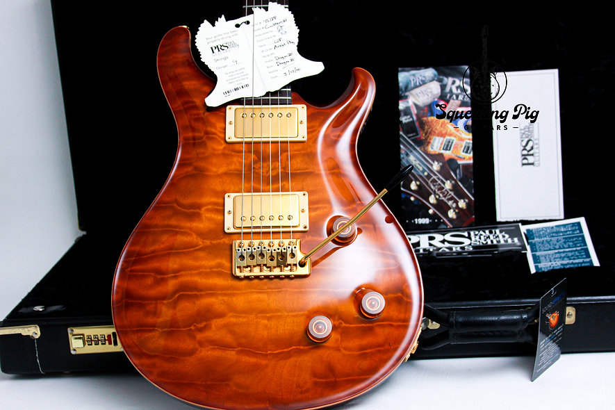 "PRS Paul Reed Smith USA Artist Package Custom 22 AAA+ ""Quilt Sunburst + Rosewood"