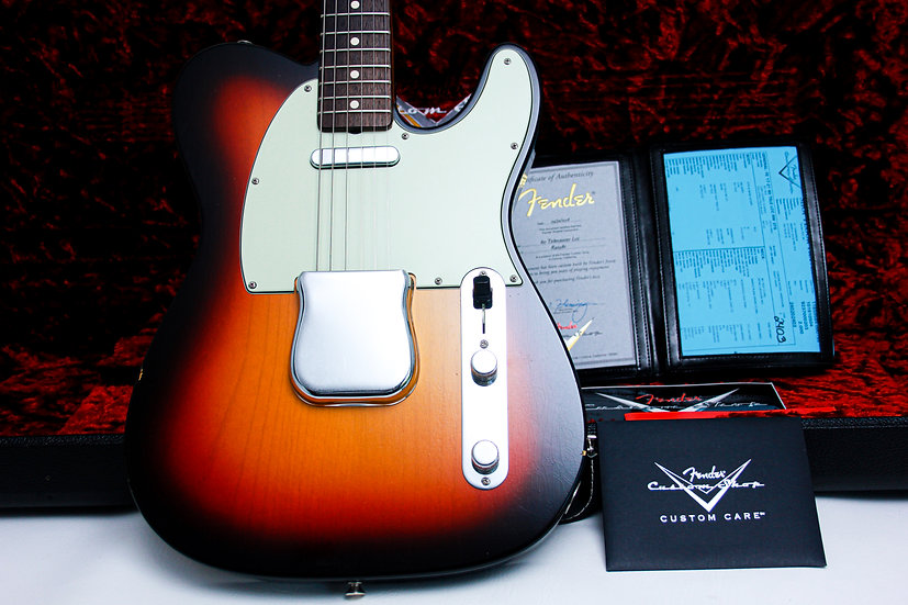 "FENDER USA Custom Shop Tele 60's Lush Closet Classic ""Three tone + Rosewood'"
