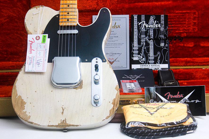 "FENDER USA Custom Shop 1951 Nocaster Heavy Relic ""White Blonde + Maple"" (2016)"