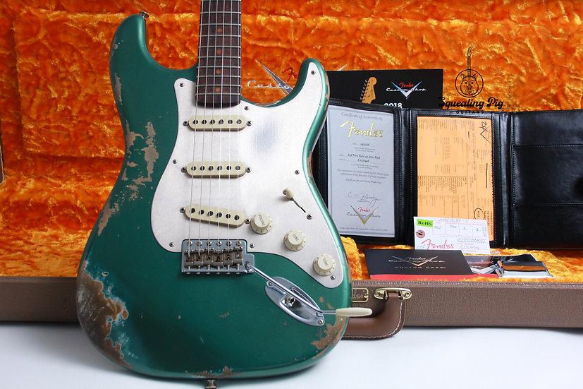 "FENDER USA Custom Shop 59' LTD Heavy Relic Stratocaster ""Sherwood Green Metallic"
