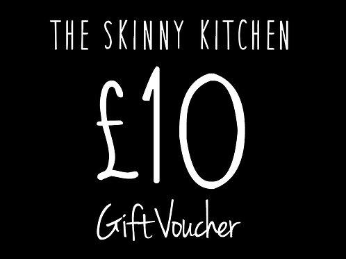 £10 Skinny Kitchen Voucher Belfast