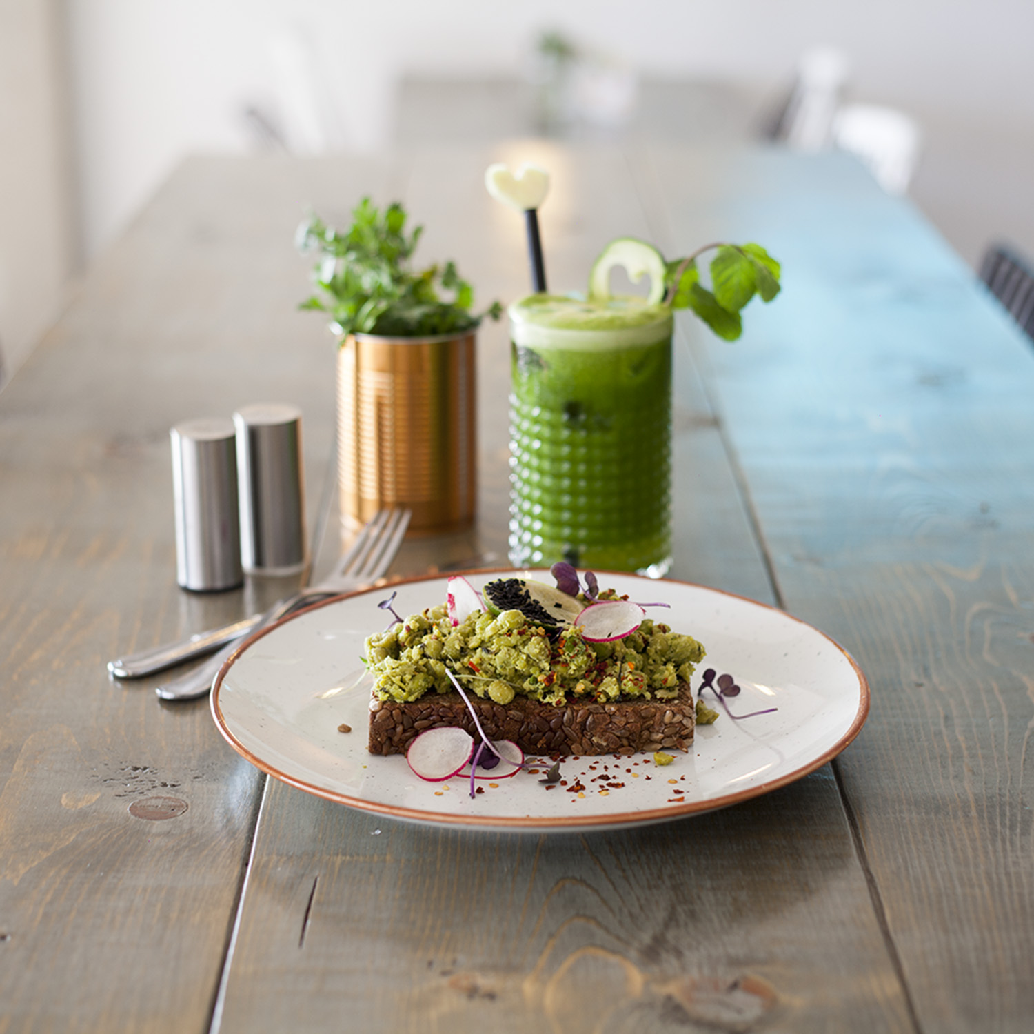healthy breakfast at skinny kitchen canterbury bournemouth