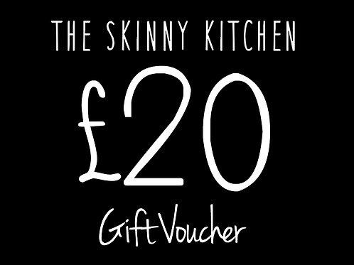 £20 Skinny Kitchen Voucher Belfast
