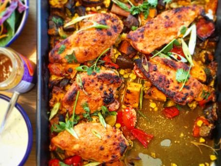Recipe: Spiced indian chicken