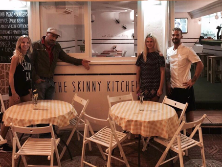 Billy Zane in the skinny Kitchen!