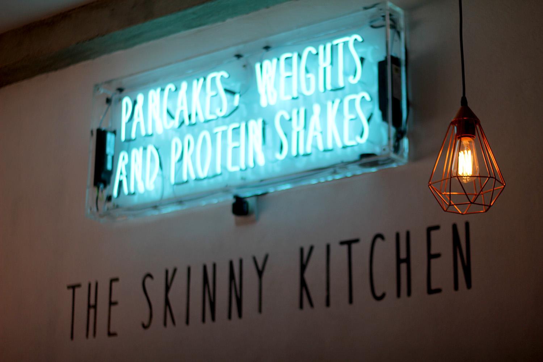 Gym based, healthy restaurant