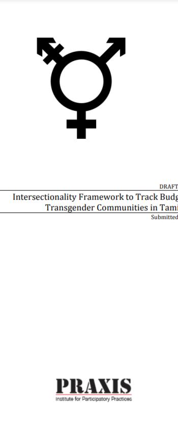 Budgets for Transgender Communities in Tamil Nadu (2013)