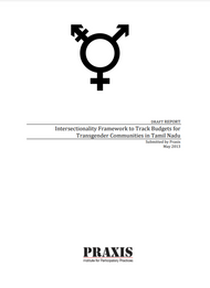 Intersectionality Framework to Track Budgets for Transgender Communities in Tamil Nadu (2013)