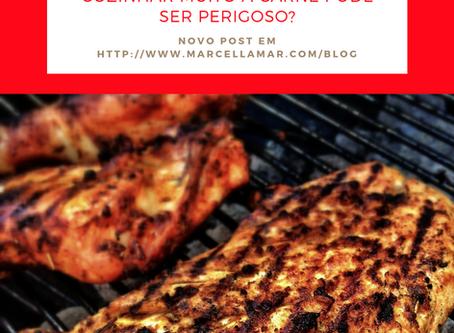 Correlação entre métodos de cozimento de carnes em alta temperatura e câncer
