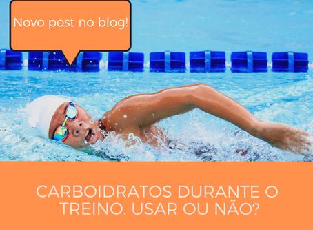 Devo consumir carboidratos durante o treino?