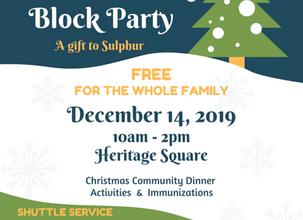 Community Christmas Block Party