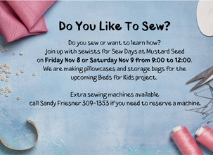 Do You Sew or Want To Learn How?