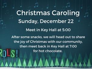 Join Us For Caroling