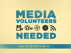 We Need Volunteers!