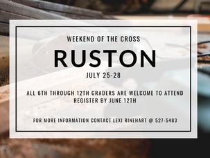 Weekend of the Cross