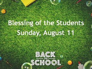 Blessing of the Students