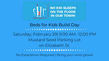 Help Build Beds For Kids