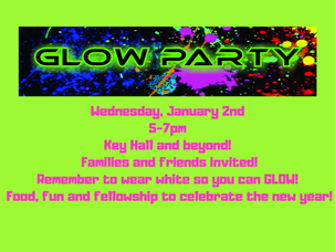 Start Your New Year With A Fun Glow Party!