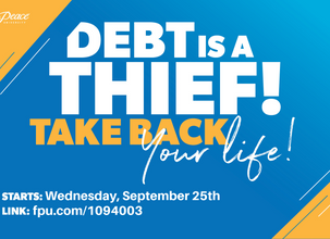 There Is Still Time To Sign Up For Financial Peace University