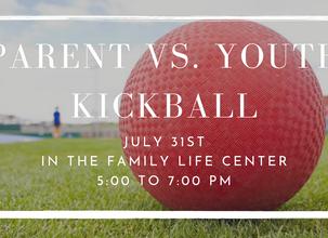Come Play A Fun Game of Kickball