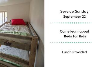 Service Sunday-Beds For Kids