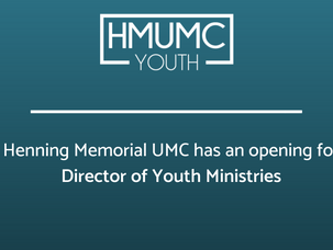 Director of Youth Ministries