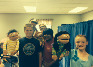 Puppet Praise Team visits Stonebridge