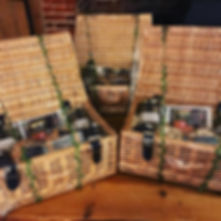 Three #christmas #hampers made up ready