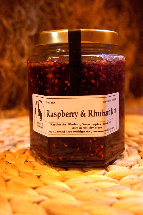 Raspberry & Rhubarb Jam