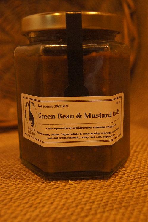 Green Bean & Mustard Pickle