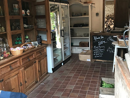 Knight Farm shop- local produce
