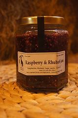 Handmade in Devon on our farm, exclusive to Knights farm Shop. Unique Jams & preserves, Raspberry jam