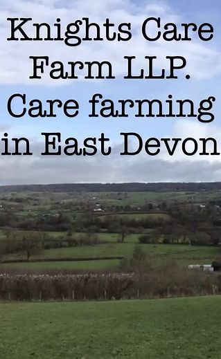 What is care farming? find out about Knights Care farm